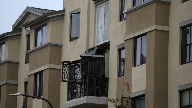 The balcony collapsed on 16 June 2015
