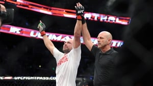 Cathal Pendred has won four fights on the trot in the UFC