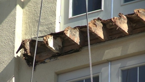 The balcony gave way during a 21st birthday party in Berkeley apartment on 16 June