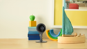 The Nest Cam can be accessed remotely, while a subscription package can give access to previously recorded material