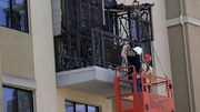Six people died and seven were injured when the balcony collapsed two weeks ago