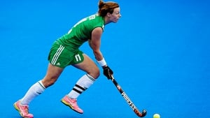 Megan Frazer was on the score sheet for Ireland