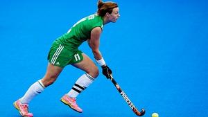 Megan Frazer was on the score sheet for Ireland
