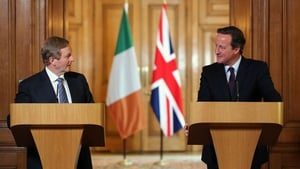 The two leaders discussed the current political deadlock in Northern Ireland, as well as a range of economic issues