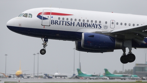 The British Airways flight was hit as it came into Heathrow this afternoon with 132 passengers and five crew on board