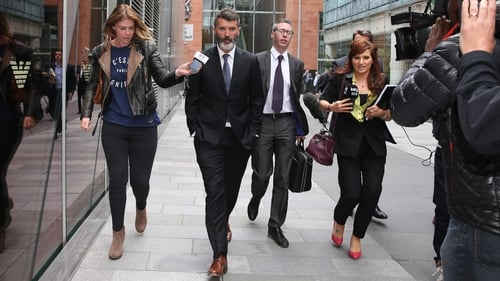 Keane was cleared of causing harassment, alarm or distress