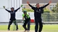 Scots celebrate win as final T20 match abandoned