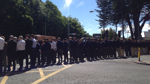 Garda Onóra do Eoghan Culligan