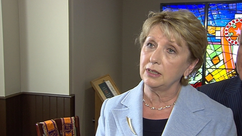 Mary McAleese is supporting an initiative where Church bells will ring to show solidarity with the world's refugees and immigrants