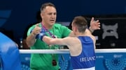 Billy Walsh (L) at June's European Games