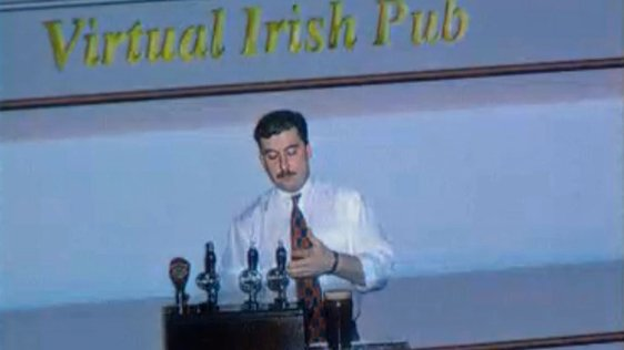 Irish Pub in Cyber Space