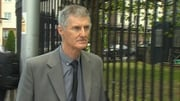Richard Burke pictured arriving at the High Court this week