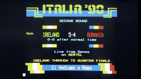 Aertel Gives Ireland vs Romania Score