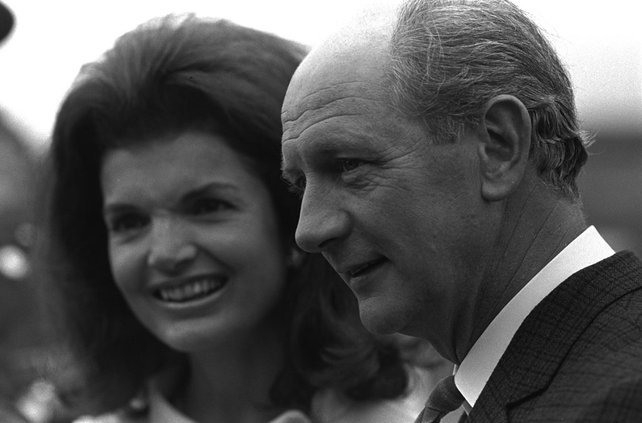 Jacqueline Kennedy and Jack Lynch