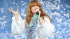 Florence Welch - Taking to the Glastonbury Pyramid stage tonight (June 26)