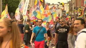 Tens of thousands marched across Dublin city centre