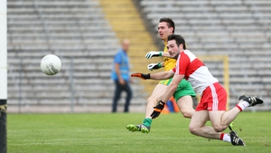 Martin O'Reilly scores Donegal's goal