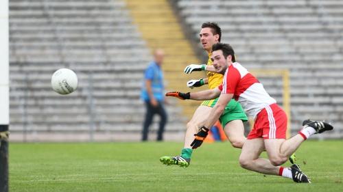 Martin O'Reilly scores Donegal's goal