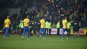 Fifteen of the Brazil squad suffered from a virus leading up to their clash with Paraguay