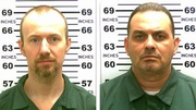 David Sweat (L) and Richard Matt (R) escaped from a maximum security prison last month