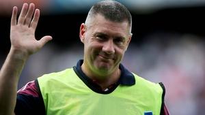 Westmeath manager Tom Cribbin
