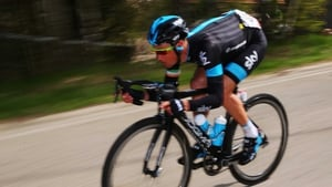 Nicolas Roche is having a great first week and has moved to within 12 seconds of the Vuelta lead
