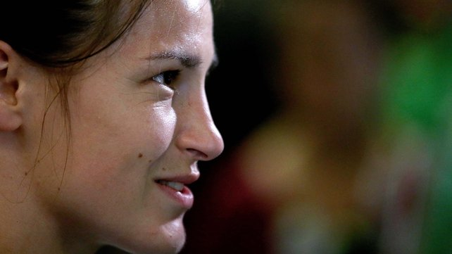 Katie Taylor: I'm not finnished yet, that's for sure