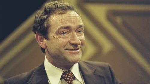 He is best remembered as a presenter of programmes including the bilingual variety show Trom agus Éadrom (Pic: RTÉ Stills Library)