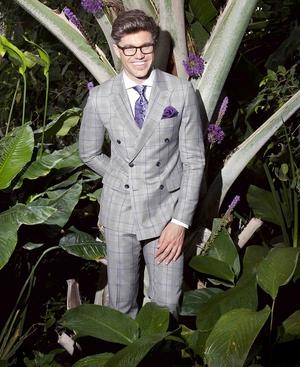 Darren Kennedy wearing the Joshua suit, €799