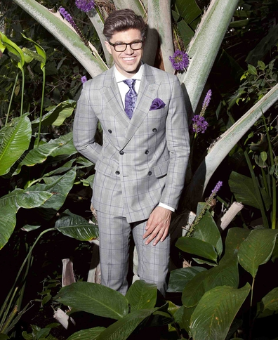 Darren Kennedy launches S/S suiting line