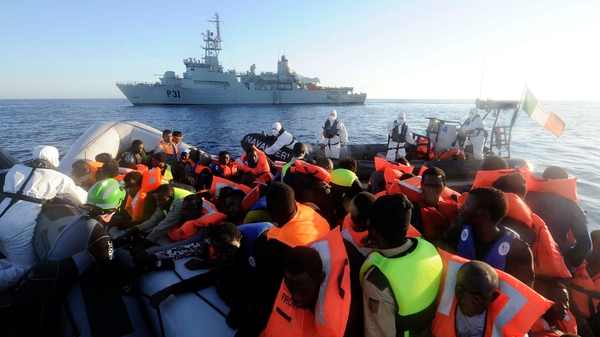 Yesterday nearly 600 were rescued by the Defence Forces (Pic: Irish Defence Forces Flickr)
