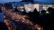A big rally took place in Athens this evening