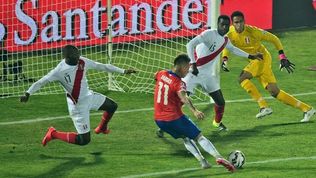 Chile make first Copa America final since 1987
