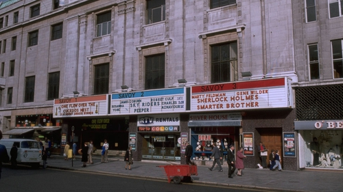 Dublin's Savoy Cinema, pictured during its '70s heyday.