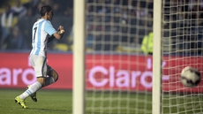 Manchester's Angel di Maria bagged a brace for Argentina