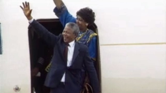 Nelson and Winnie Mandela (1990)