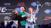 Jose Aldo will not fight Conor McGregor on Saturday week