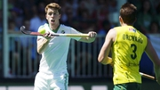Ireland's Stephen Dowds in action against Australia