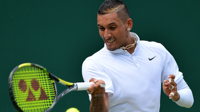 Nick Kyrgios - upcoming tennis stars