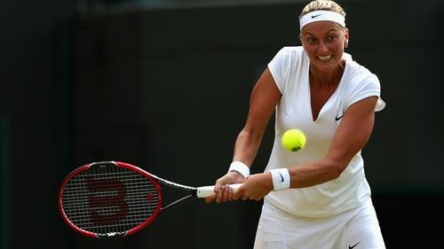 Kerber in historic loss, tearful Kvitova returns