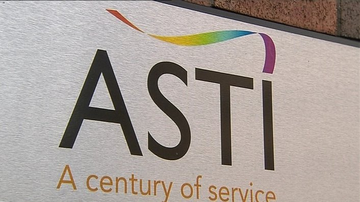 ASTI: 'industrial action up to and including strike' is likely