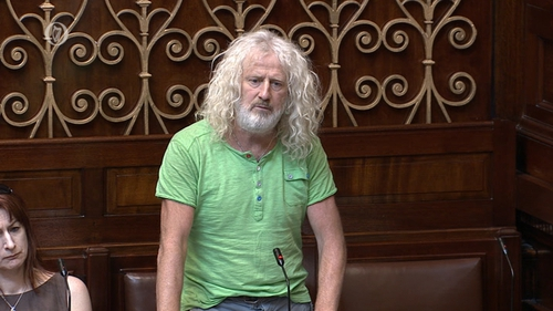 Independent TD Mick Wallace raised the issue in the Dáil yesterday