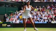 Heather Watson fell just short against Serena Williams
