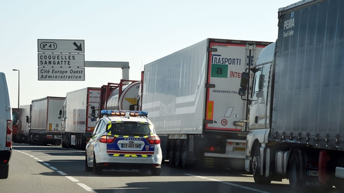 Eurotunnel said services were delayed and cancelled after migrants attempted to access restricted areas on the French side
