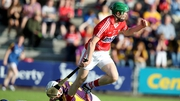 Seamus Harnedy scored Cork's second goal at Wexford Park