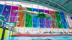 Fiona Doyle in action at the World University Games in Nambu, South Korea