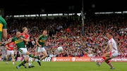 Kieran Donaghy scores Kerry's first-half goal