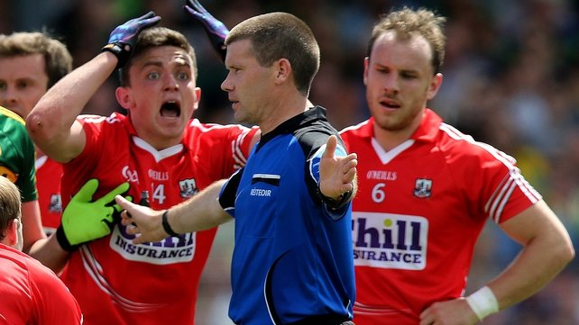 Cork claim 'wrong decision' cost semi-final place