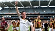 Brian Cody salutes the crowd after Kilkenny's victory
