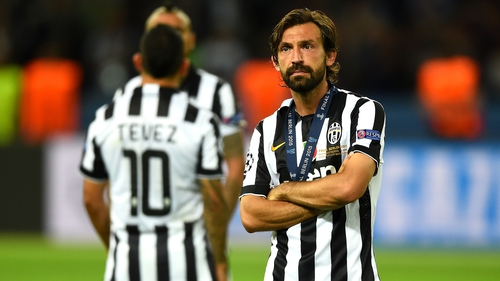c80d2da72 Andrea Pirlo was part of the Juventus side that lost out to Barcelona in  the Champions